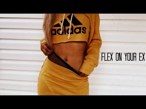 FLEX ON YOUR EX DIY HOODIE TWO PIECE SET