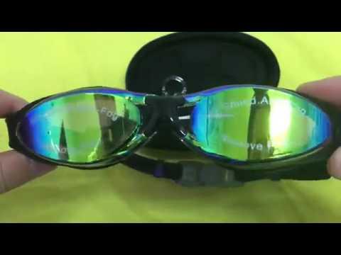 934e9f7b1a Gafas de Natación Experto por Bezzee Pro, Gafas cómodas, seguras y bonitas
