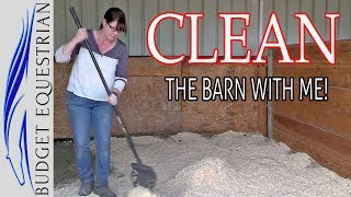 Cleaning Motivation | Clean With Me | Cleaning The Barn
