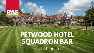 Petwood Hotel Squadron Bar - RAF Lincolnshire