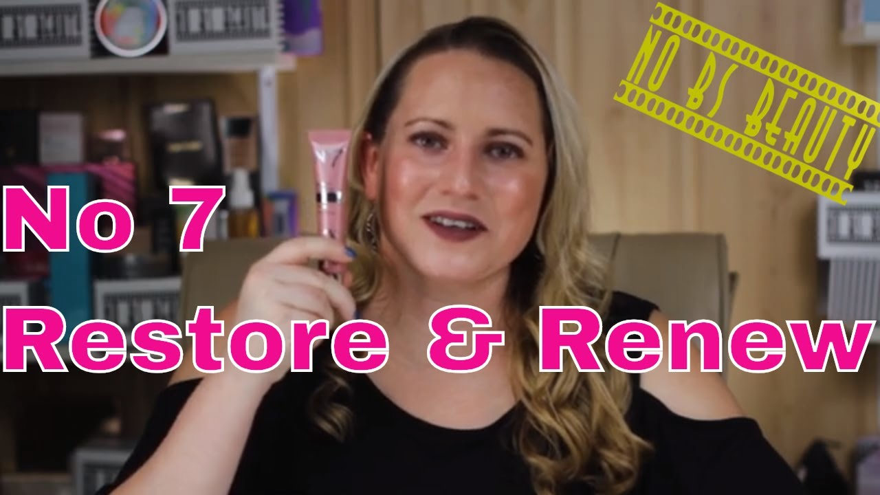 Boots NO 7 🆕 Restore & Renew Face & Neck Multi-Action Serum Review