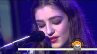 Birdy Tee Shirt Live - Today Show