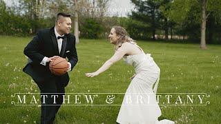 The Greatest Gift I Have Ever Received | Beautiful Micro Wedding in Indiana | Matthew & Brittany 🏀💑⚾