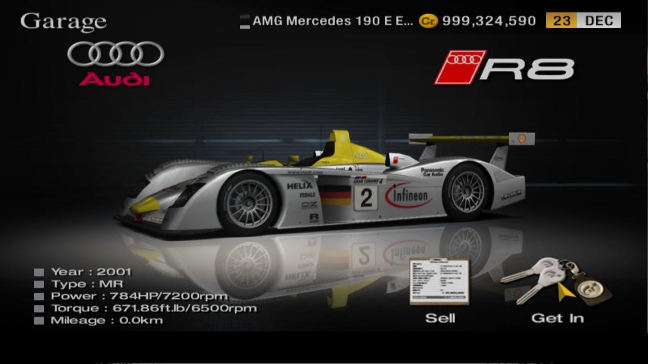 Gran Turismo Audi R Race Car Cote De Azur Gameplay HD - Audi r8 race car 01 gt6