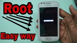 How to root Samsung galaxy s dous 2 GT-7582 in hindi by tech to review