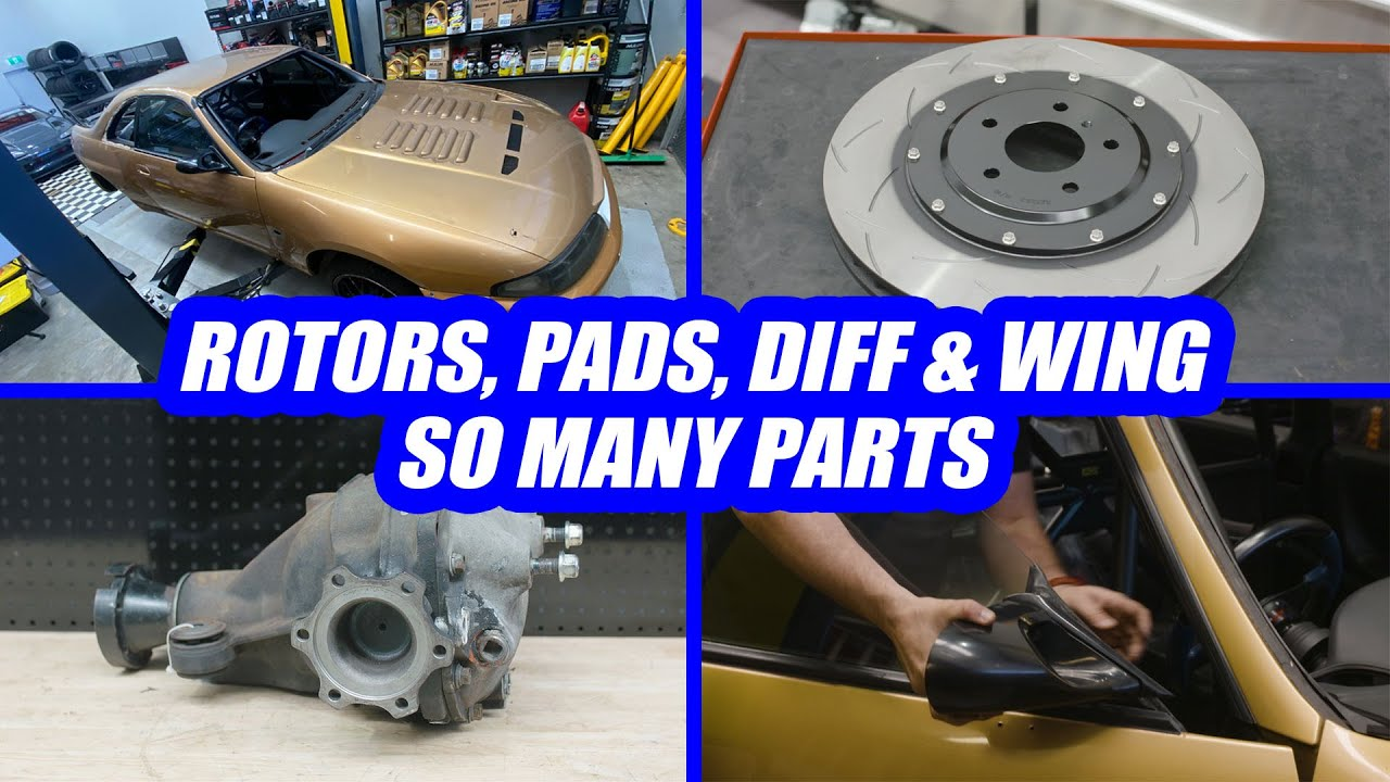 More Parts for our R33 GT-R - Project No Secrets Ep15