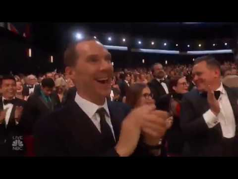 Benedict Cumberbatch wins Emmys with 'pure joy' at proposal