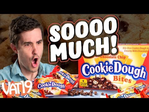 Don't eat 1 pound of RAW cookie dough!