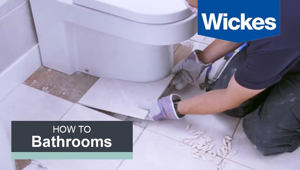 10 easy steps to tile a bathroom floor