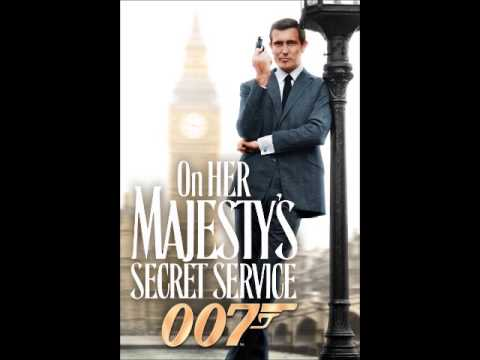 On Her Majesty's Secret Service - 8-bit style cover