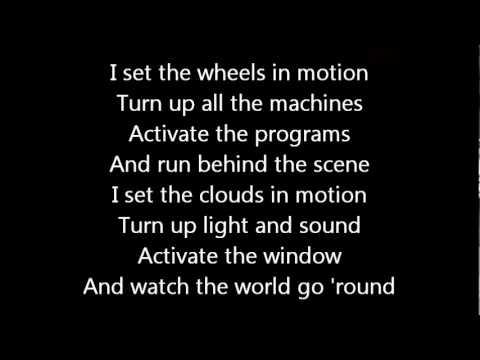 Rush-Prime Mover (Lyrics)