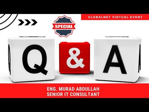 Special Q&A Session | Eng. Murad Abdullah | GlobalNet Virtual Event