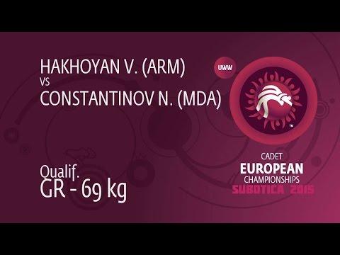 Qual. GR - 69 kg: V. HAKHOYAN (ARM) df. N. CONSTANTINOV (MDA) by TF, 8-0