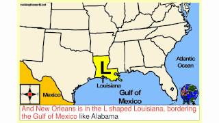 Southern U.S.A. Geography Song