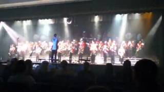 James bond by parkside marching band 2012