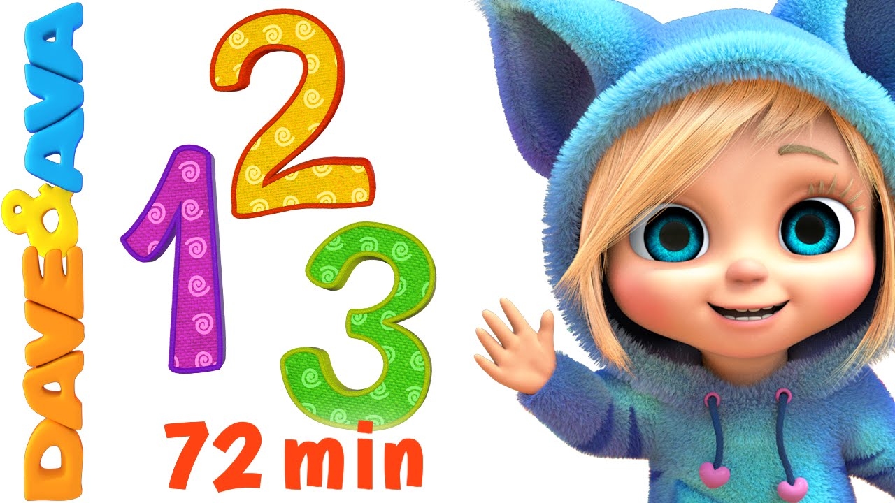 Numbers And Counting Songs Collection Nursery Rhymes And
