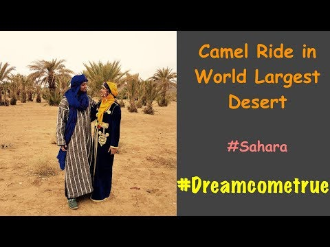 Trip to Sahara Desert | Morocco travel vlog | day 3