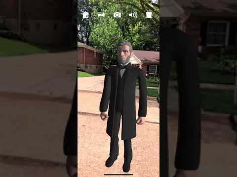AR Flashcards Abraham Lincoln Tutorial (From the app) thumbnail