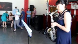 Саксофон на праздник  Бессамэ мучо
