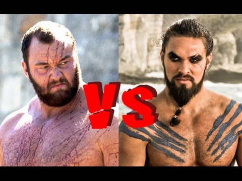 Gregor Clegane VS Khal Drogo - WESTEROS BRAWLS