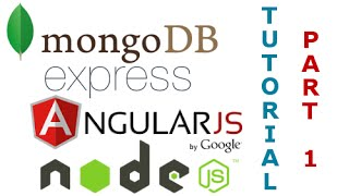 MEAN Stack RESTful API Tutorial (1/5) - Using MongoDB, Express, Angular JS, and Node JS Together