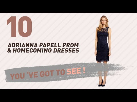 Adrianna Papell Prom & Homecoming Dresses // New & Popular 2017