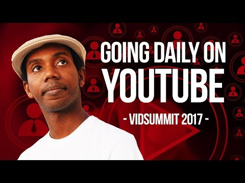 How to Make YouTube Videos Daily without Burning Out | Vidsummit 2017