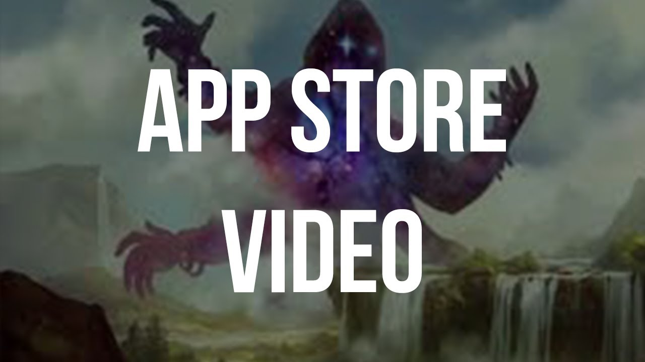 MTG Manager App Store Video Intro