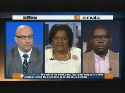 Mothers Against Police Brutality Founder Collette Flanagan on MSNBC Ed Show