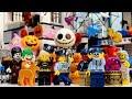 【LEGO遊び】警察署のハロウィンパーティーごっこ ドロボウがモンスターに仮装で脱走!?ハロウィン脱走計画を阻止せよ!【アナケナ&カルちゃんのキッズアニメ】Halloween police