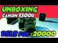Dslr for 20000 / best cheap DSLR , canon 1300d unboxing and review