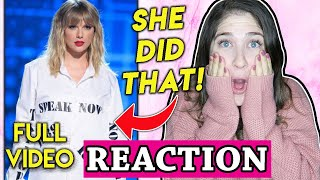Taylor Swift Ama's Reaction To Full Artist Of The Decade Performance 2019