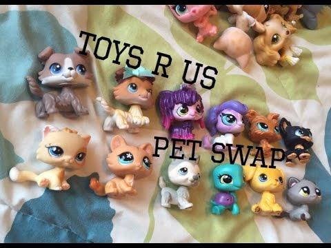 Toys R Us Lps Pet Swap Haul