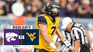 Kansas State vs No. 12 West Virginia Football Highlights (2018) | Stadium