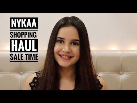 NYKAA SHOPPING HAUL | NYKAA SALE | MINI HAUL | SHIVSHAKTI SACHDEV