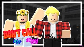 DON'T CALL ME ANGEL, ROBLOX LOVE STORY (fr) 👼