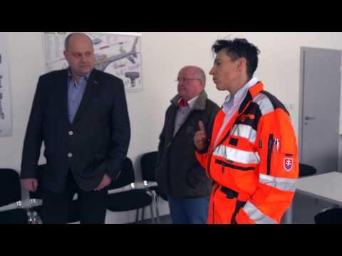 Vrtuľníková záchranná zdravotná služba ATE - Poprad setkání ZZS Olomouckého kraje