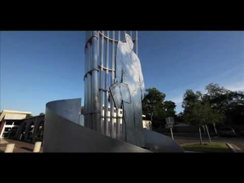 Cesar Chavez Memorial by Connie Arismendi / Laura Garanzuay