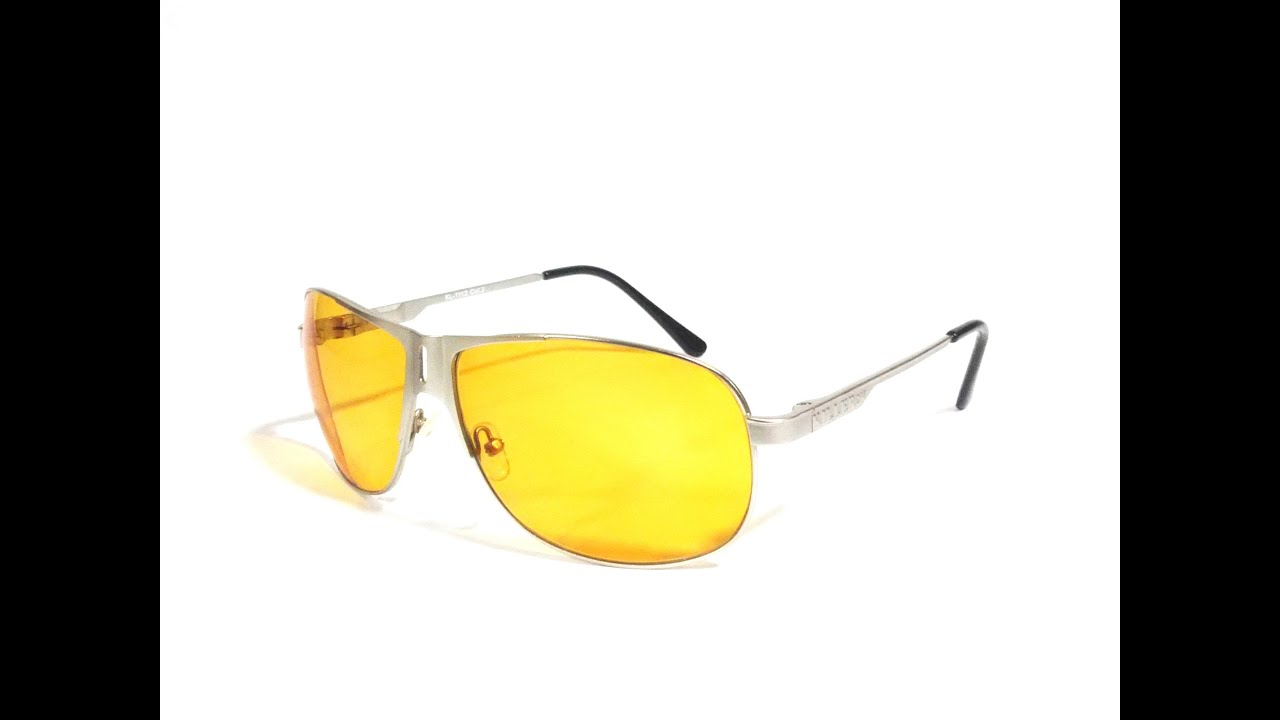 online aviator sunglasses  Yellow Night HD Vision Aviator Sunglasses Online in India - YouTube