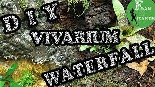 How to build a vivarium waterfall