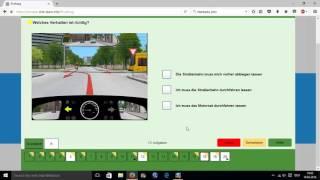 Führerschein Test klasse B