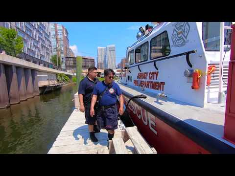 PintheQ Productions Special:  Jersey City Fire Department MARINE 1