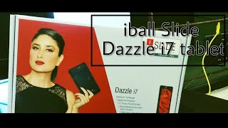[Unboxing] iball Dazzle i7 3G Android 7.1 Tablet @ ₹3889