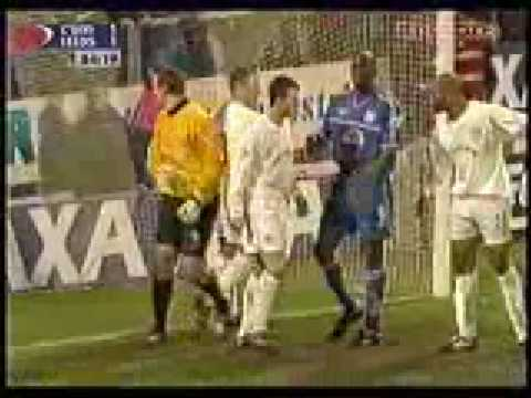Cardiff City 2 - 1 Leeds United, FA Cup 3rd Round, 2002