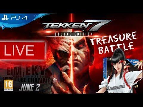 TEKKEN 7SEVEN (Treasure Battle) KAZUMI - LIVE - PS4 |MALAYSIA 28/11/2017