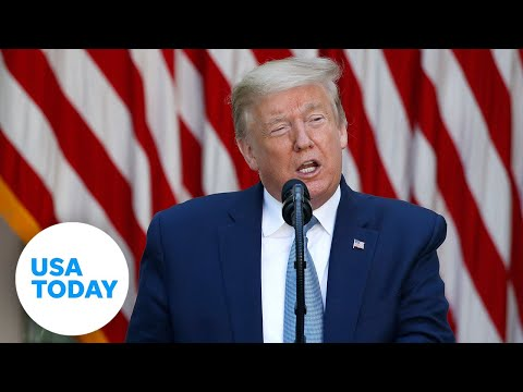 Pres. Donald Trump Holds A News Conference On The Relationship With China | USA TODAY
