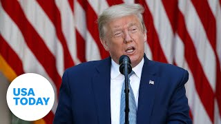 Pres. Donald Trump holds a news conference on the relationship with China   USA TODAY