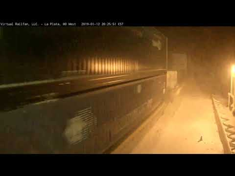 Train Barrels Through Virgin Snow in La Plata