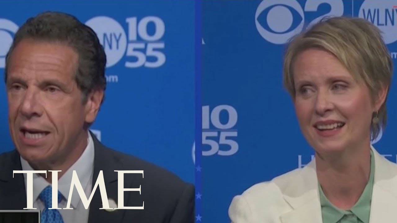 'Can You Stop Lying?' Cynthia Nixon And Gov. Andrew Cuomo Square Off In Heated Debate | TIME ...