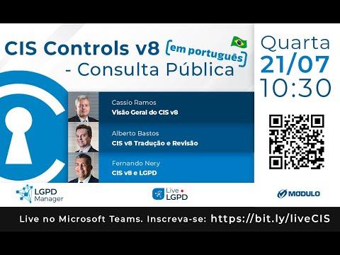 Live CIS Controls v8: Consulta Pública em português - 21/07